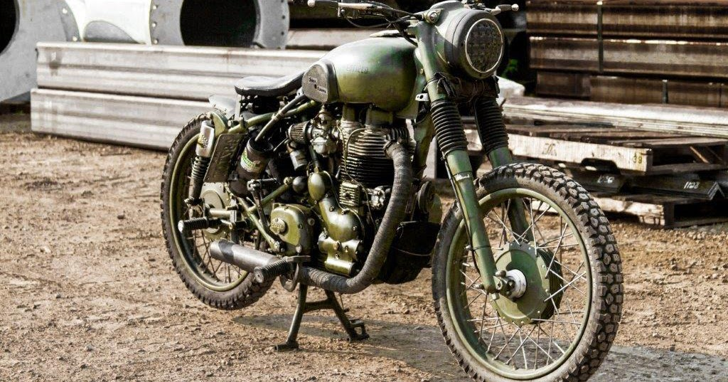 RoyalEnfields.com: Soldier's Royal Enfield Military looks ...