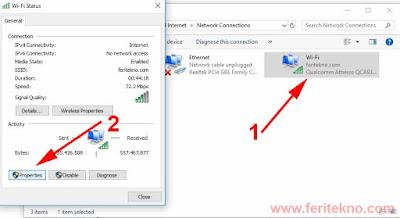 Mengatasi Ikon Wifi Tanda Seru Kuning di Windows 7, 8 dan 10 2
