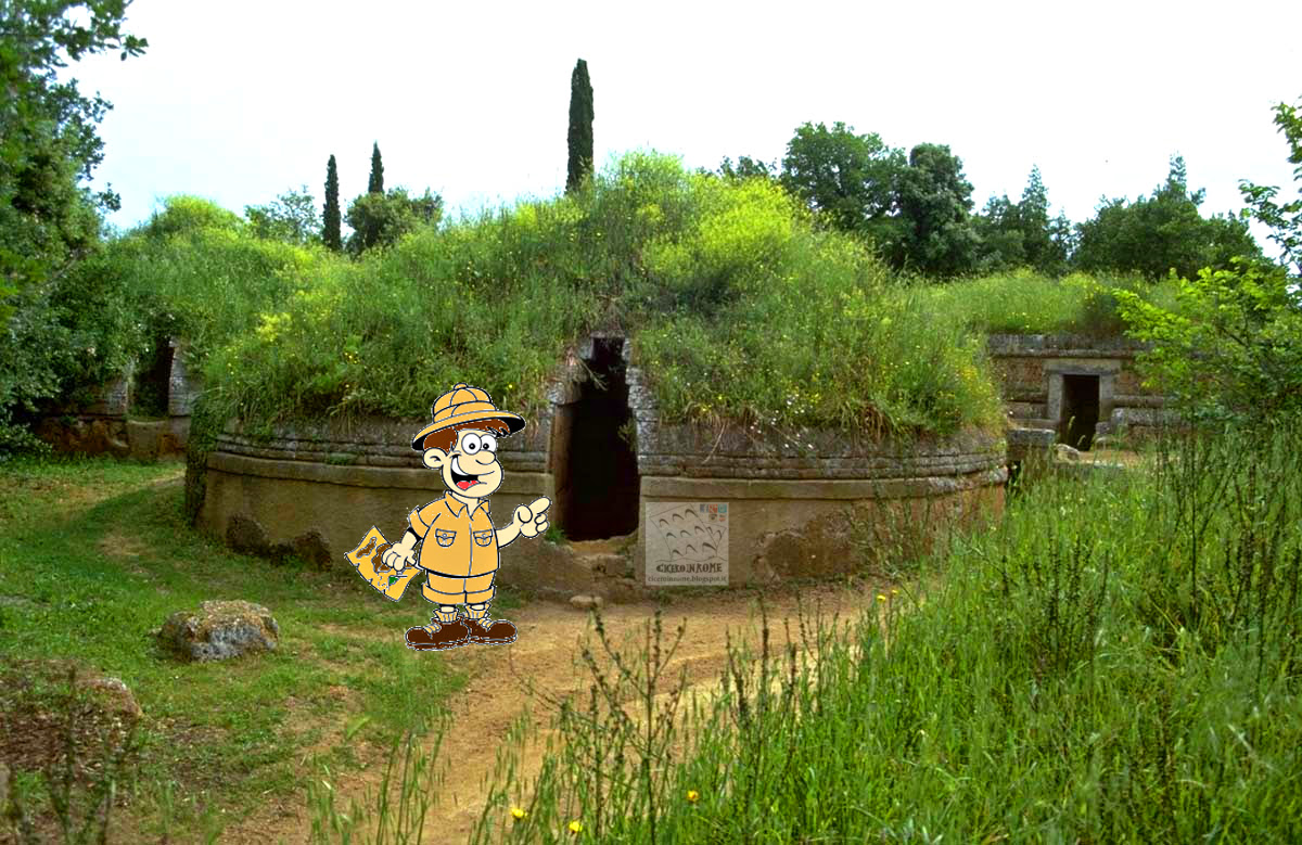 Per Bambini: Esplorando la Necropoli Etrusca di Cerveteri