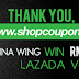 I am WINNER Shopcoupons Malaysia Blogger Contest - Get RM 100 Lazada Voucher!