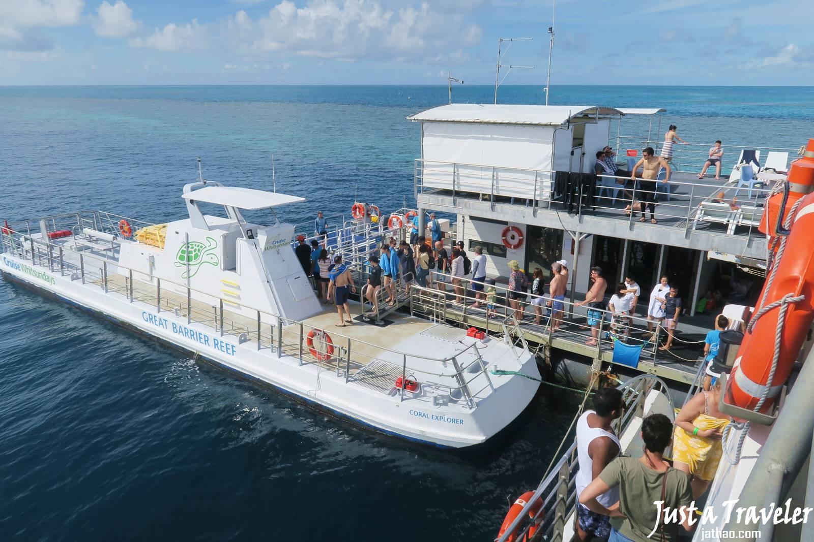 聖靈群島-景點-推薦-大堡礁-半潛水艇-semi-submarine-浮潛-潛水-行程-玩水-一日遊-遊記-攻略-自由行-旅遊-澳洲-Whitsundays-Great-Barrier-Reef