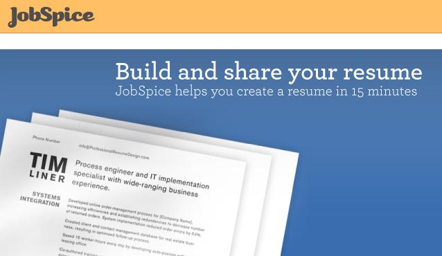 Website To Create Free Resume. My Online Resume Livecareer My