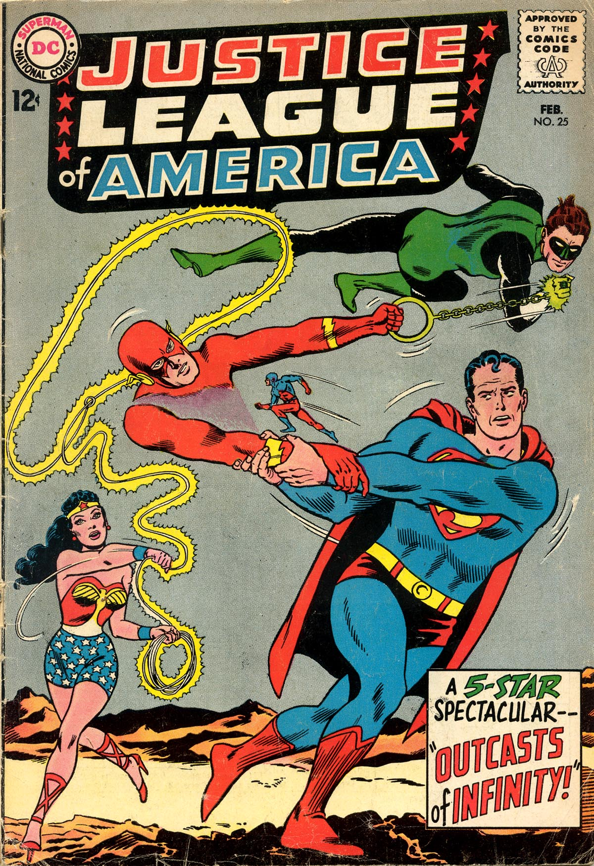 Justice League of America (1960) 25 Page 1