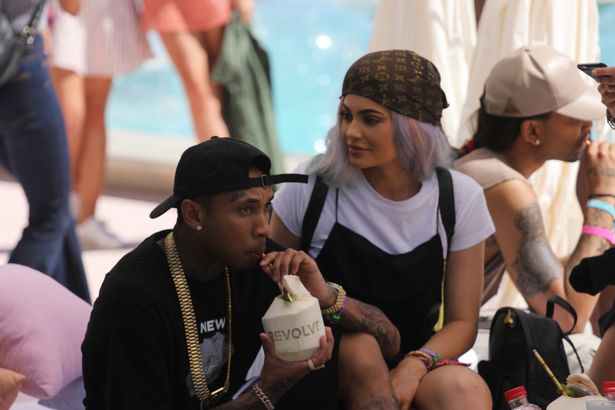 tyga kylie jenner happy together