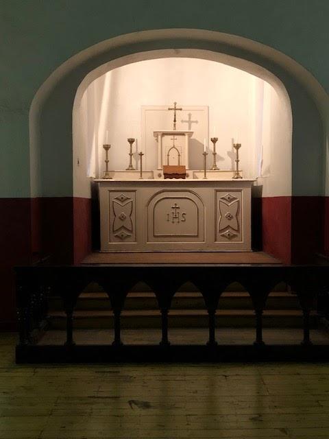 Kilmainham Gaol altar
