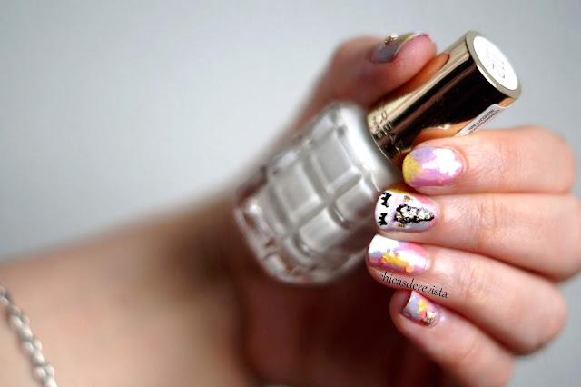 nail art licorne facile