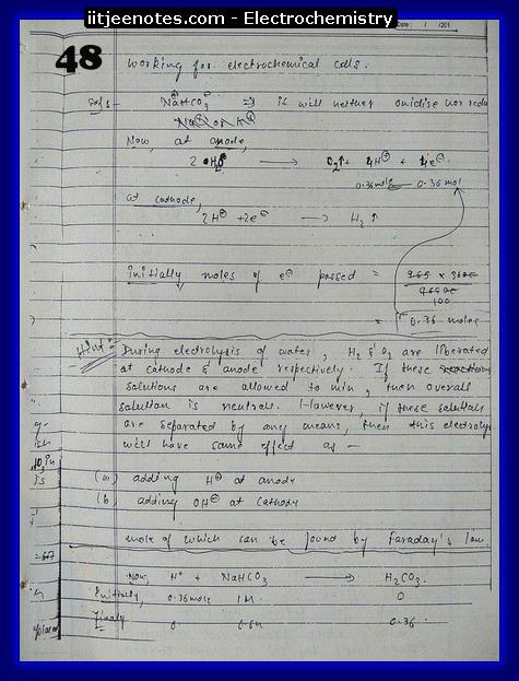 Electrochemistry chemistry3