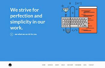 OneEngine: Ücretsiz Tek Sayfa WordPress Teması