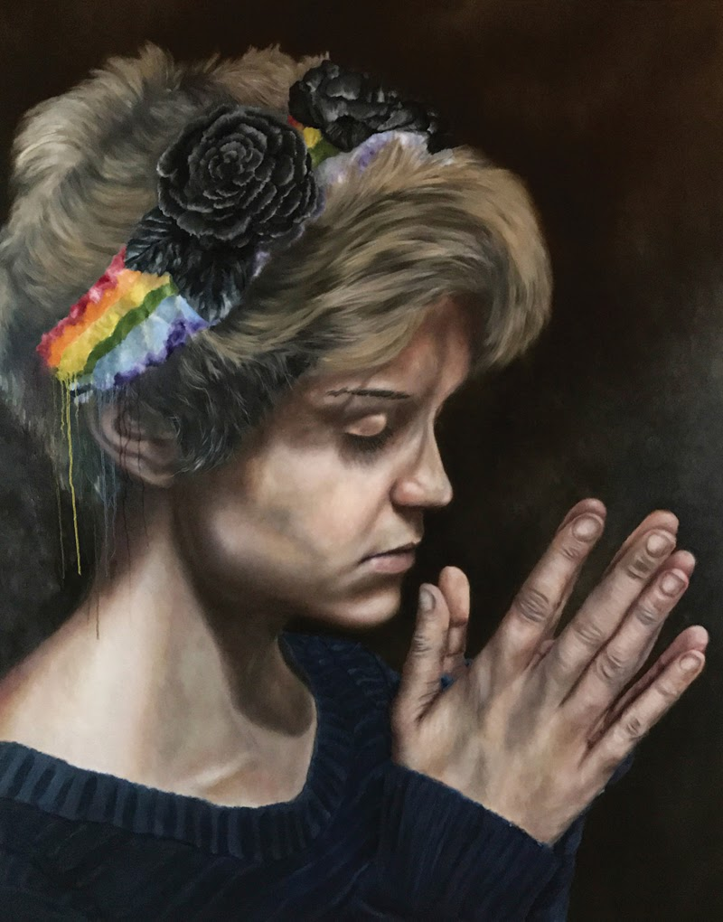 Figurative Paintings by O'Neil Scott.
