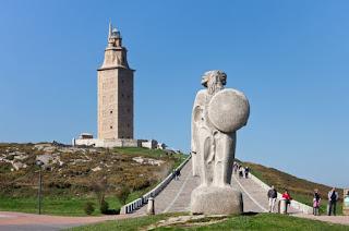 Tower of Hercules di Spanyol