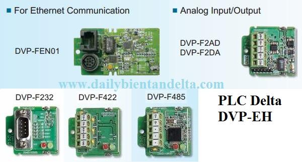 Card mở rộng chức năng cho PLC Delta DVP48EH00T3