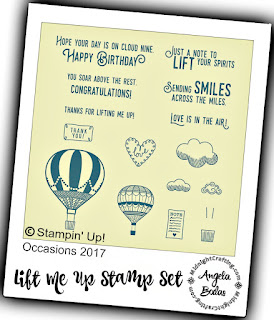 Stampin Up Occasions Lift Me Up  MidnightCrafting.com