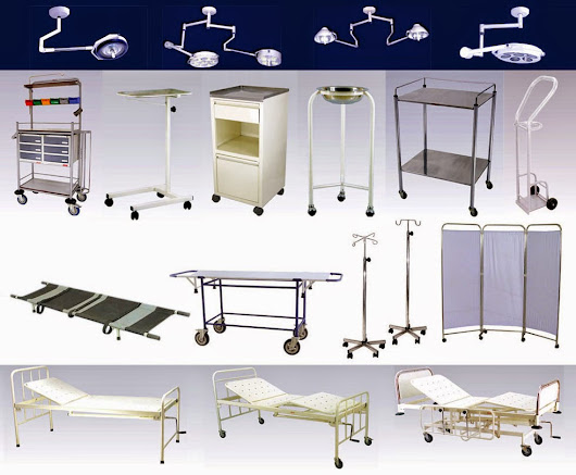 Common Hospital Furniture That You See when in hospital