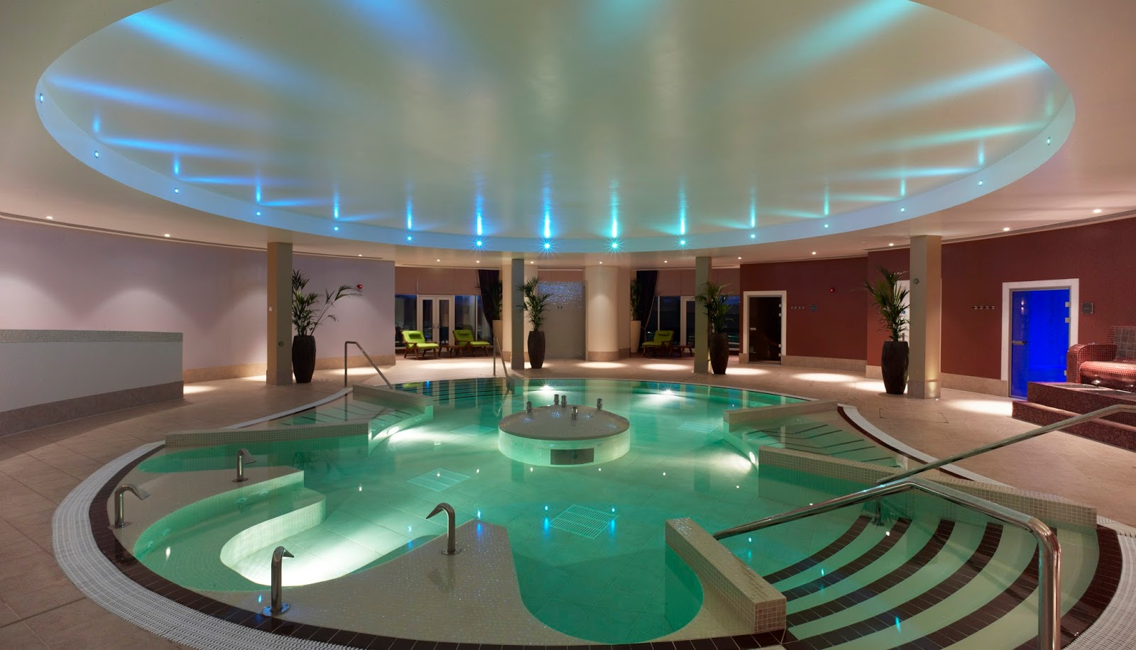 A Luxury Family Staycation at Rockliffe Hall Hotel  - spa with kids