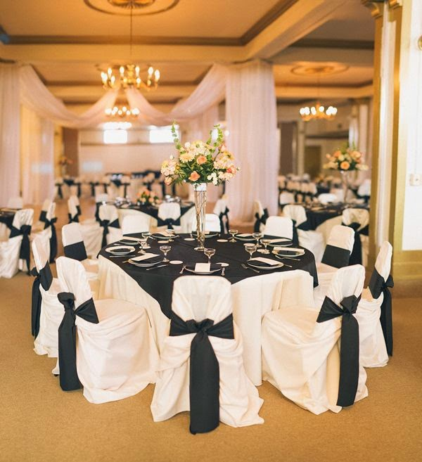 Black And White Wedding Theme 3