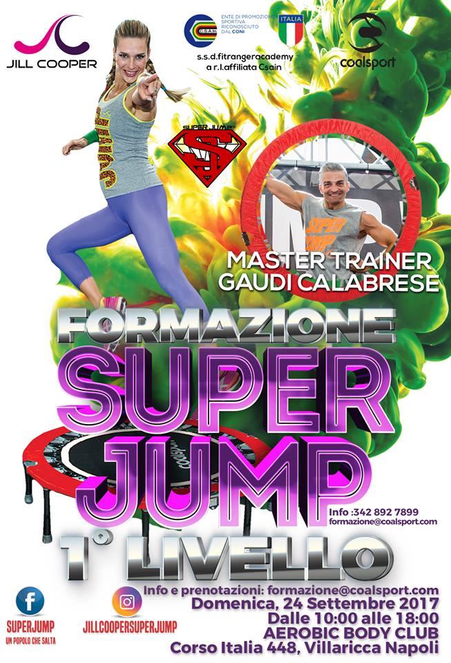 Corso di formazione Superjump 1° Livello base, 24 settembre 2017 a Villaricca, Napoli
