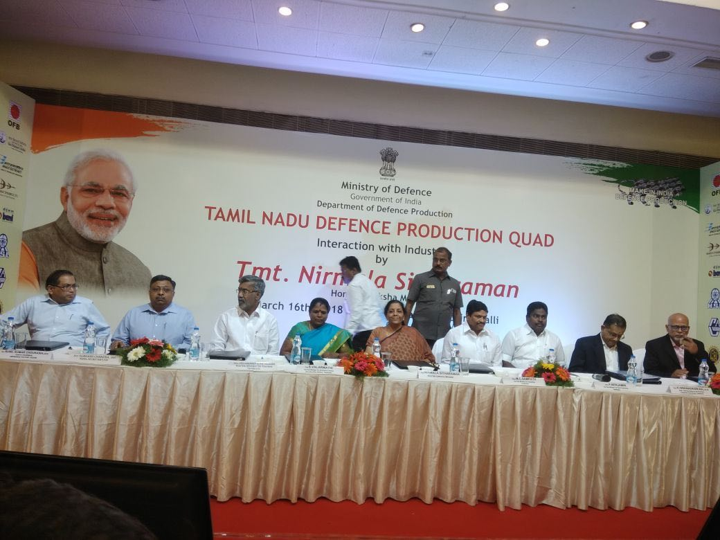Tamil Nadu firms to sign MoUs with state defence department