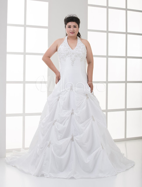 Used Plus Size Wedding Dresses Cheap