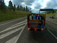 Mod Traffic Modus Indonesia v2 Euro Truck Simulator 2