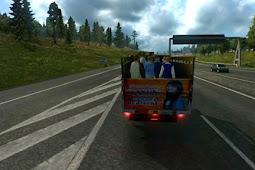 Mod Traffic Modus Indonesia v2 Euro Truck Simulator 2