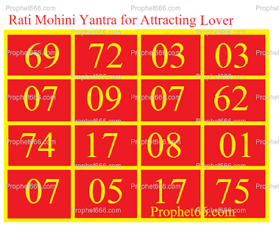 Rati Mohini Yantra to Attract Lover's Attention