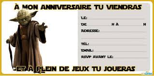carte anniversaire Maître Yoda