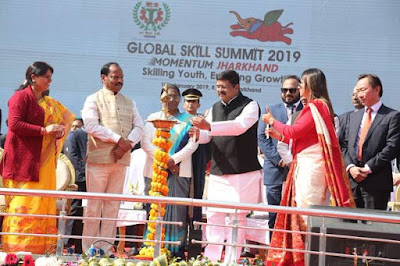 One-day Global Skill Summit 2019 held in Ranchi, Jharkhand: jobs given to more than 1 lakh youth
