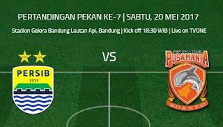 Prediksi Persib Bandung vs Pusamania Borneo FC Sabtu 20 Mei 2017