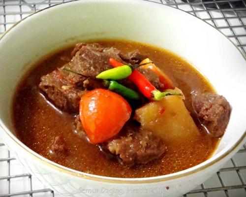 Resep masakan semur daging sapi enak lezat dan cara membuatnya