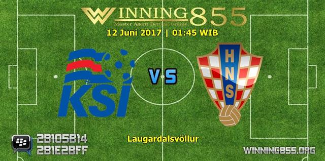 Prediksi Skor Iceland vs Croatia 12 Juni 2017