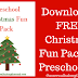 FREE Printable Christmas Fun Pack for Preschool (And the Literacy Musings Monday Linkup)