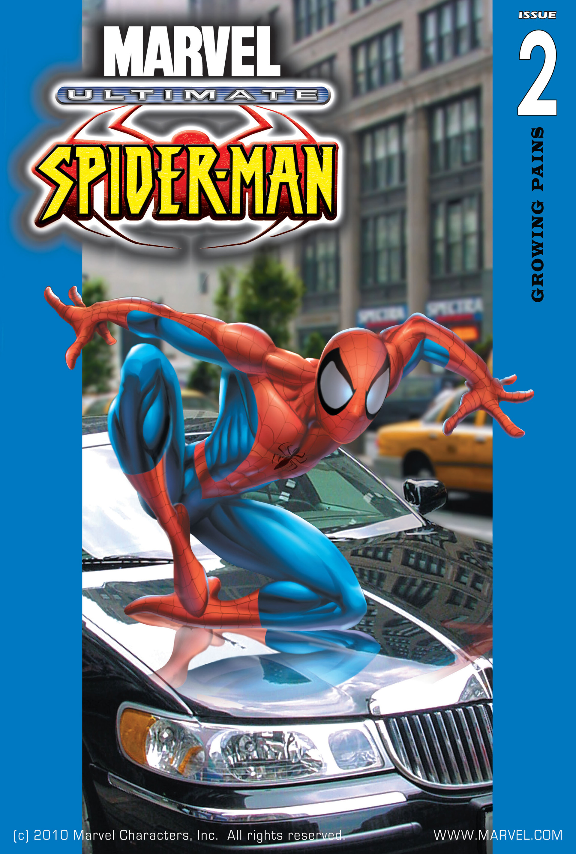 Read online Ultimate Spider-Man (2000) comic -  Issue #2 - 1