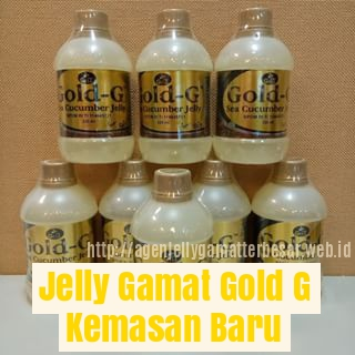 Jelly Gamat Gold G ORIGINAL