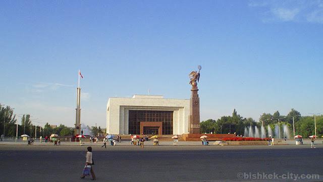Ibu Kota Kyrgzstan - Bishek
