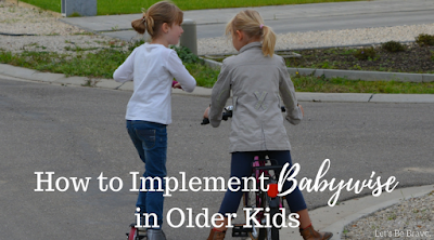How To Implement Babywise In Older Kids