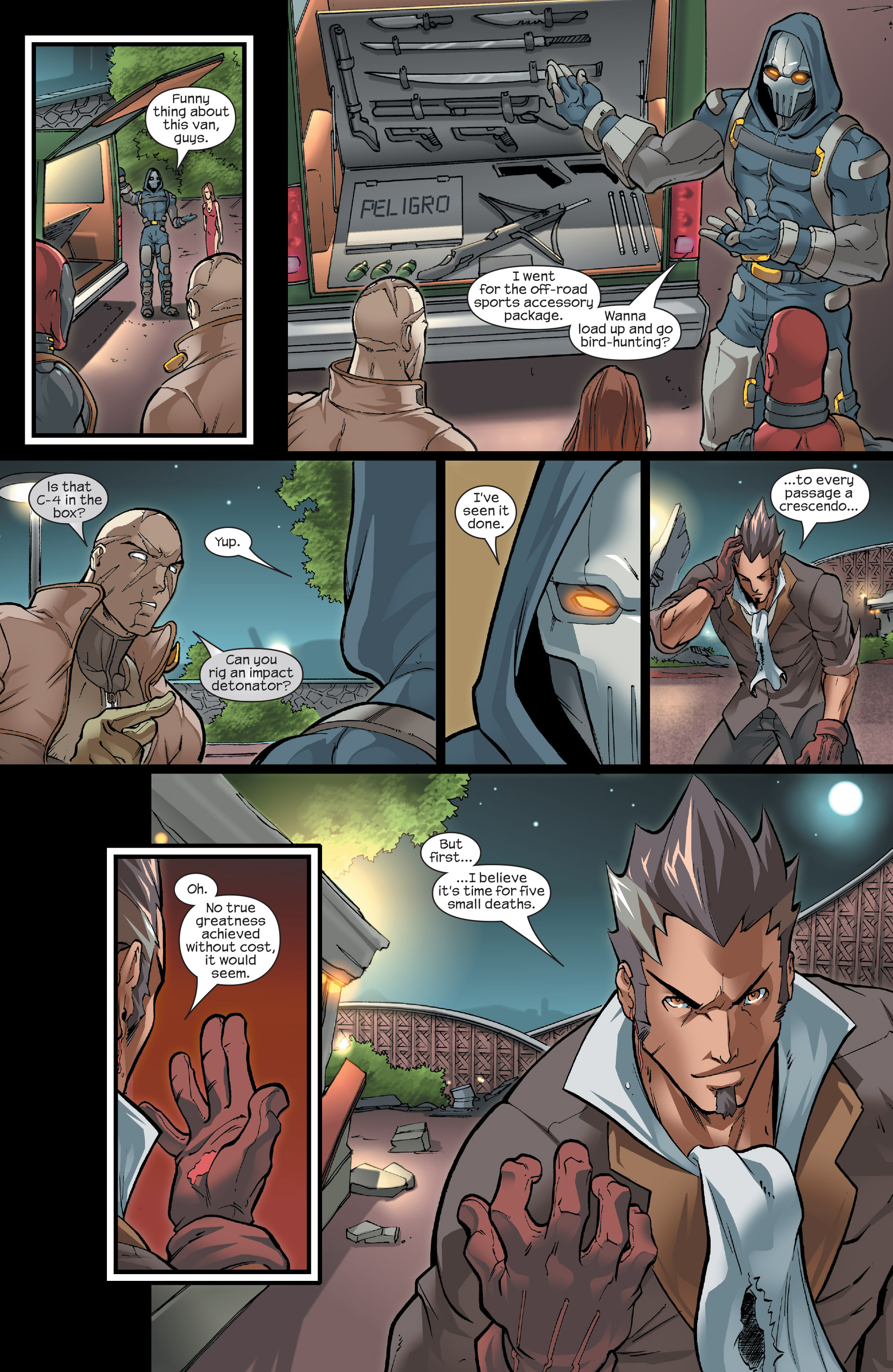 Read online Agent X comic -  Issue #15 - 15