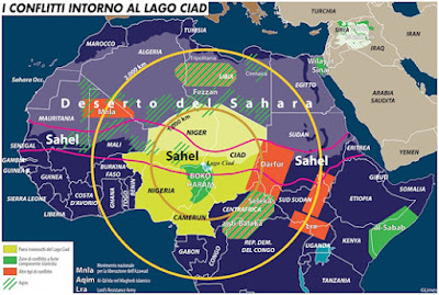 Importancia geopolítica del Lago Chad