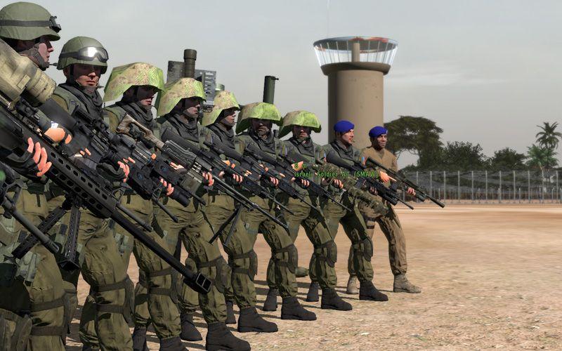 弱者の日記^^Arma 2 用イスラエル国防軍の Givati 旅団アドオンが v1.1 に