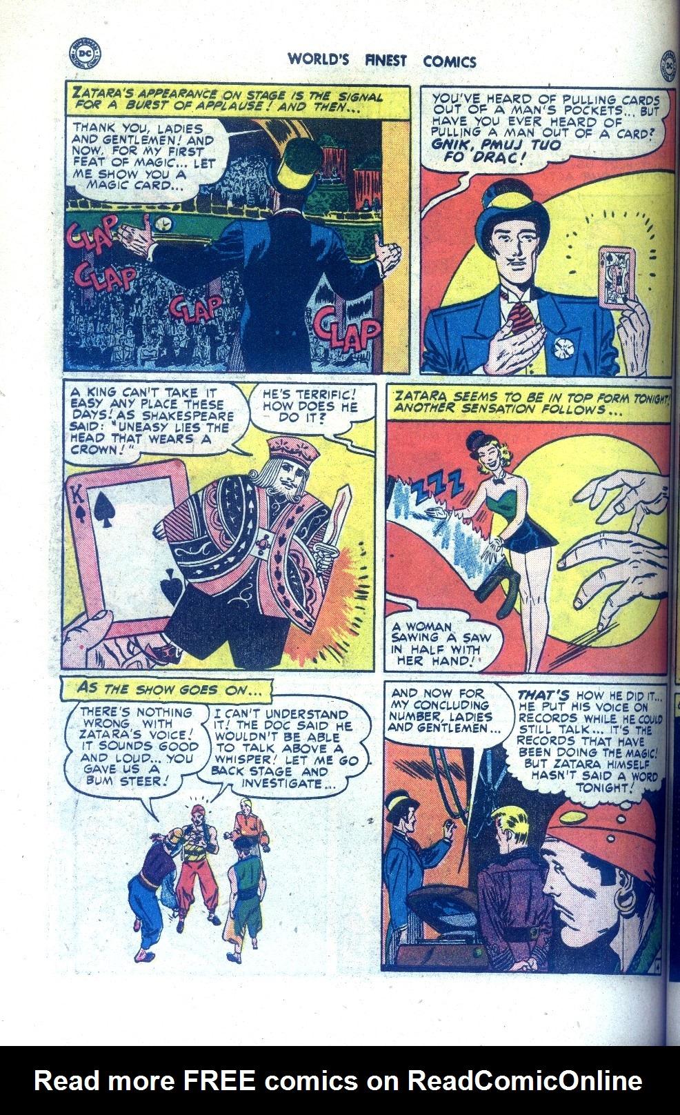 Read online World's Finest Comics comic -  Issue #43 - 54