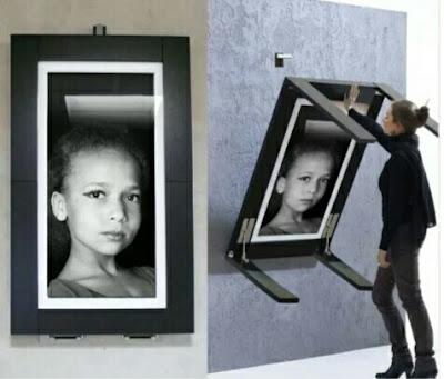 Meja Lipat  Artistik multifungsi