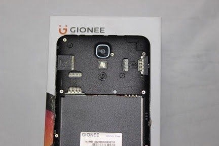 Gionee P8W Mobile Full Specifications