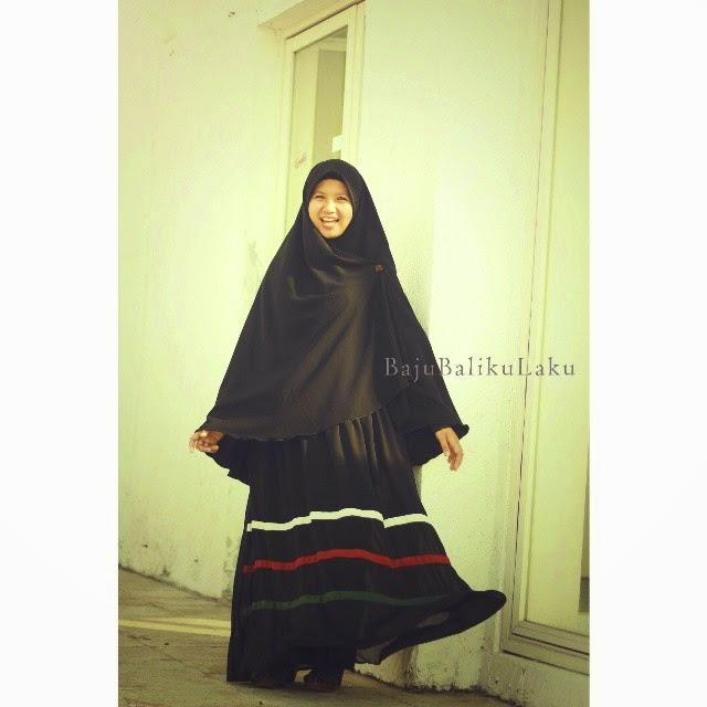 gamis hijab syari baju baliku laku