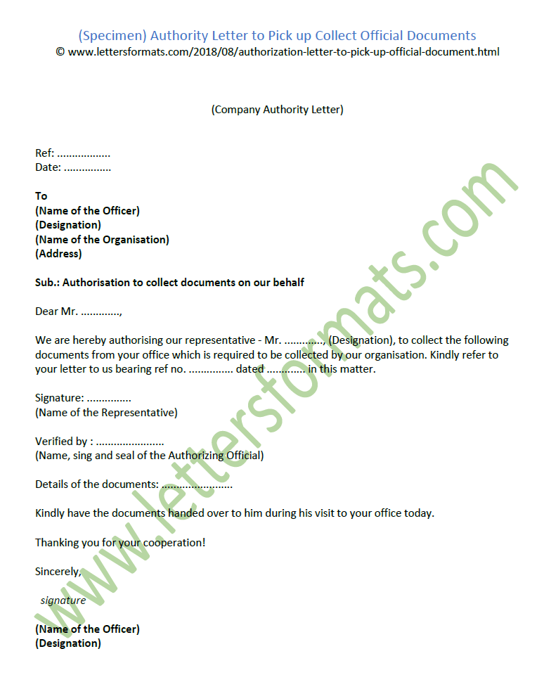 Bank Authorization Letter Sample To Collect Documents from 2.bp.blogspot.com