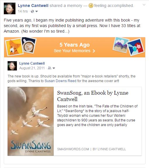Hearthmyth august 2016 reminder that five years ago on august 21 2011 i notified all of my friends that swansong would shortly be available for purchase at smashwords fandeluxe