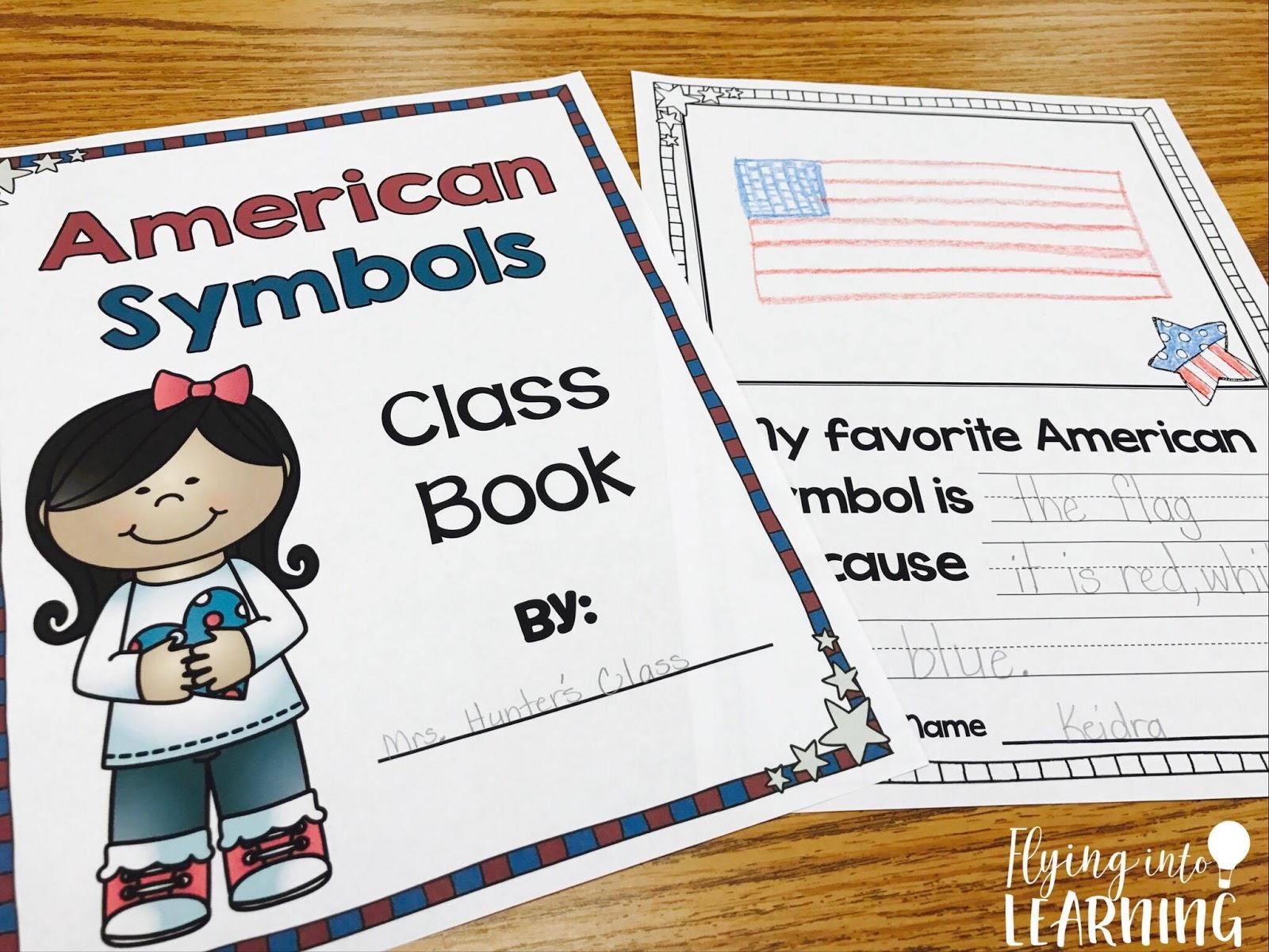 medium resolution of Teaching Ideas for American Symbols   Flying into First Grade