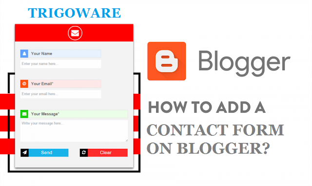 How To Add A Contact Form On Blogger?