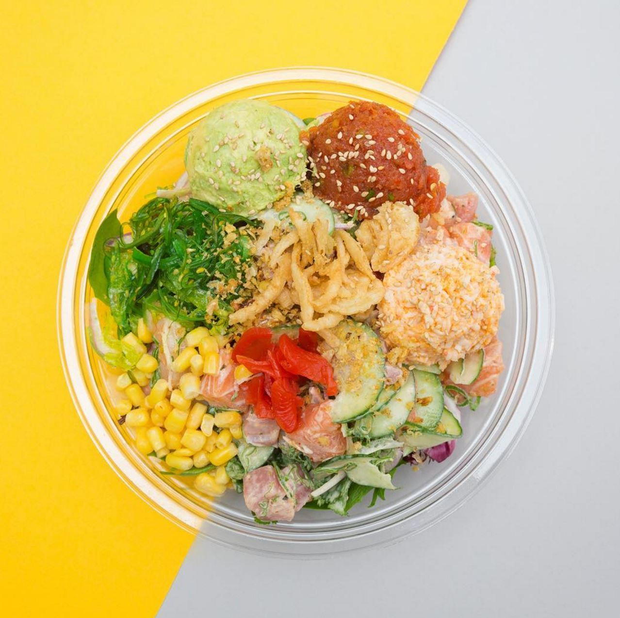 Ends April 30 | Bogo 50% Off Poke Bowls @ Rollrritto + Poke Bar - Huntington Beach