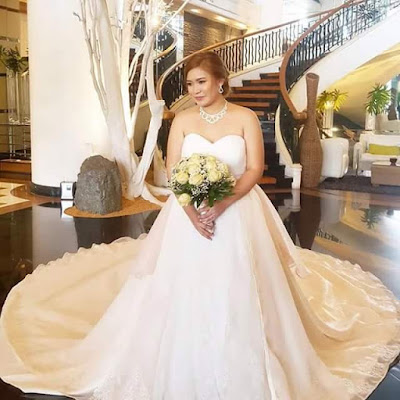 Photos: Bride-to-be Pays Designer Friend $430 To Make Her Wedding Gown Only To Receive An Ugly And Disastrous Dress A Day Before Her Big Day