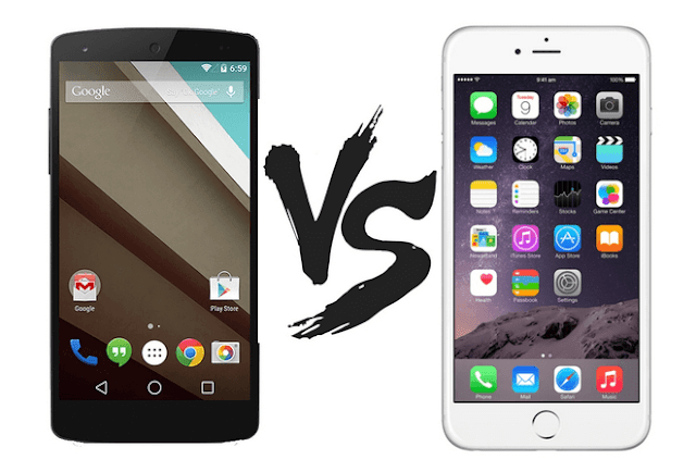 ada rumor kalau pembeli hp di Eropa sudah banyak yang mulai beralih untuk membeli ponsel ber sistem operasi iOS ketimbang sistem operasi Android.