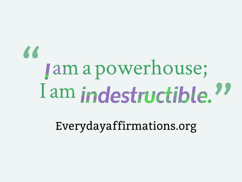 Affirmations for Women, Daily Affirmations 2014